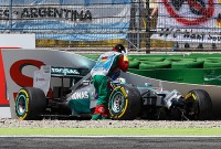 No clear cause of Hamilton's brake failure in Germany