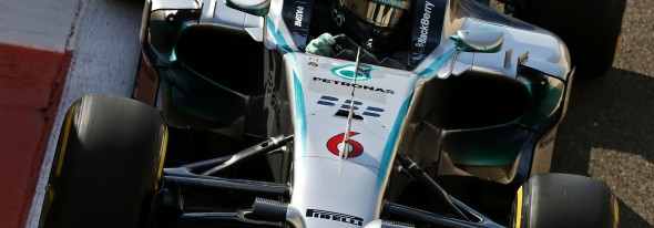 Rosberg on top on the last session of 2014
