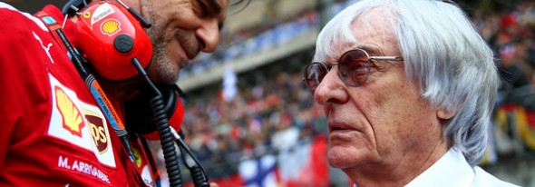 """Arrivabene to Ecclestone: """"he can take my F1 pass tomorrow"""""""