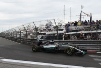 Hamilton secure first pole in Monaco