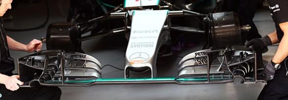Four F1 teams tweaked 'flexi' front wing designs