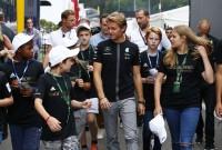 Spa: Rosberg on top in FP1